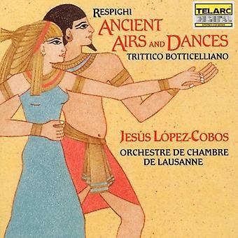 O. Respighi - Resphighi: Ancient Airs and Dances; Trittico Botticelliano [CD] USA import