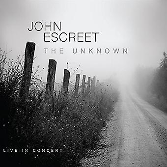 John Escreet - Unknown [CD] USA import