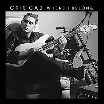Cris Cab - Where I Belong [CD] USA import