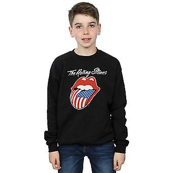 Rolling Stones pojat amerikkalainen kielen pusero
