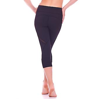Mio Active Cropped Mesh Detail Fitness Pants MS16S9S