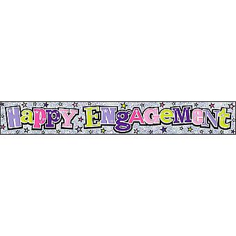 Simon Elvin Happy Engagement Foil Party Banner