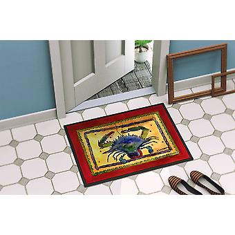 Carolines Treasures  8056-MAT Crab  Indoor or Outdoor Mat 18x27 8056 Doormat