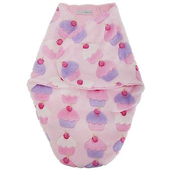 Baby piger Cupcake Print Fleece Swaddle taske