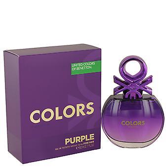 Benetton Colors de Benetton Purple Eau de Toilette 80ml EDT Spray