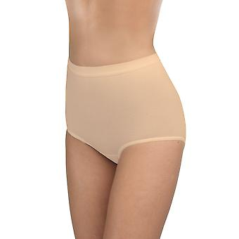 BlackSpade 1310 Women's Nude Solid Colour 3 Pack Brief