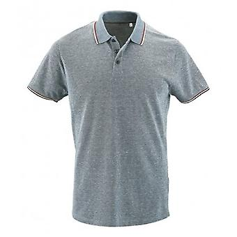 SOLS Mens Paname Heather Pique Polo Shirt