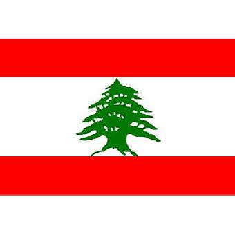 Libanon vlag 5 ft x 3 ft