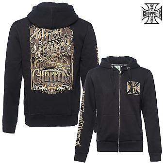 West Coast Choppers Zip Hoodie Lock Up