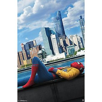 Spider-Man Homecoming - City-Plakat-Druck