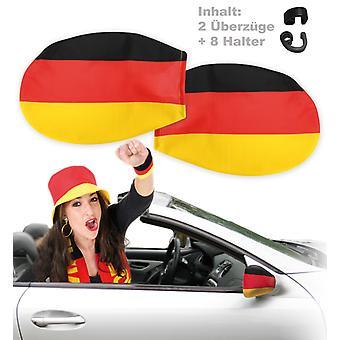 Article pour fans Allemagne voiture miroir finition