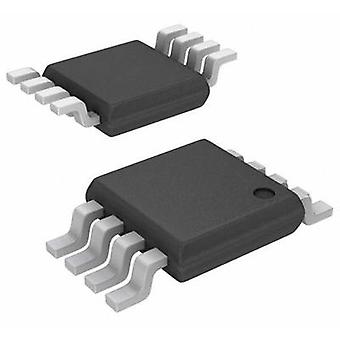 Linear IC - Comparator TLV3702CDGK Multi-purpose CMOS, Push pull, Rail-to-rail VSSOP 8