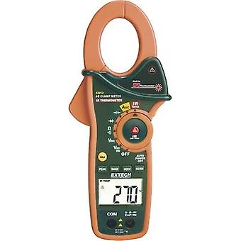 Extech EX810 Clamp meter, Handheld multimeter Digital IR thermometer CAT III 600 V Display (counts): 4000