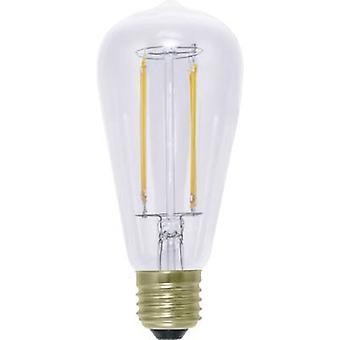 Segula LED (monochrome) EEC A+ (A++ - E) E27 Bulged 6 W = 40 W Warm white (Ø x L) 62 mm x 142 mm dimmable, Filament 1 pc(s)