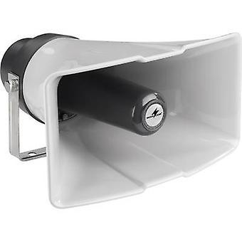 Monacor IT-35 PA compression drive speaker 25 W White, Black 1 pc(s)