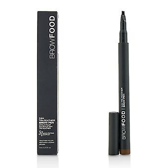 Lashfood Browfood 24h Tri Feather Brow Pen - Dark Brunette - 1ml/0.03oz