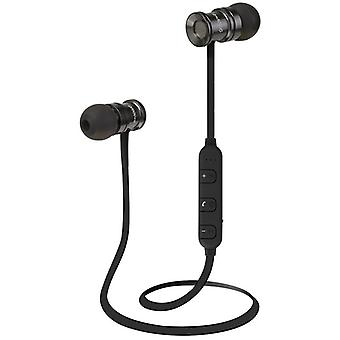 Groov-e Bullet Buds Metal Wireless Earphones with Remote and Mic Silver GVBT600SR