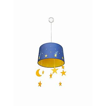 Philips Maripo hanging lamp with Moon and stars Nursery