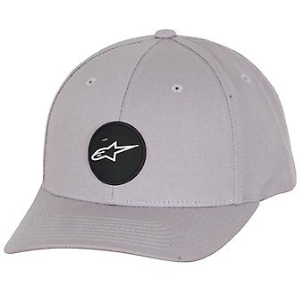 Alpinestars Mens Snapback Cap ~ Cover grey