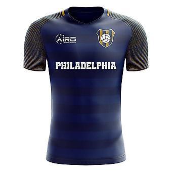 2020-2021 Philadelphia Home Concept Fotbal Shirt