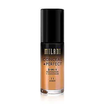 Milani Conceal + Perfect Liquid Foundation-11 Amber