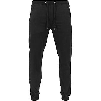 Hommes classiques urbaines jogging pantalon Stretch Twill