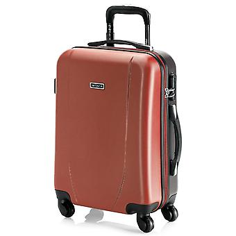 Trolley 50 Cm cabin suitcase Abs. Hand luggage. Rigid and lightweight. Telescoping handle, 2 handles, 4 wheels. Ideal flights Low Cost Ryanair Vueling 71150