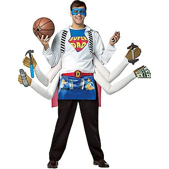 Super far voksen kostume