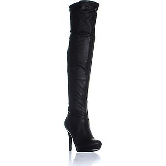 Thalia Sodi Womens Beckie Closed Toe Over Knee Fashion Boots