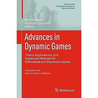 Fremskridt i dynamisk spil teori applikationer og numeriske metoder for Differential- og stokastiske spil af Breton & Michele