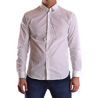 Marc Jacobs Ezbc062040 Men's White Cotton Shirt