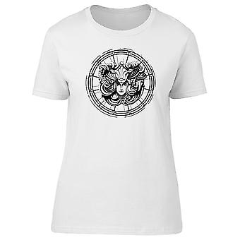 Woman In Goat Mask Aries Tee Men's -Image by Shutterstock