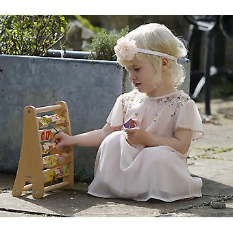 Classic World - Alphabet Abacus Alphabet & Number Learning/Recognition, Basic Spelling, Counting & Early Word Assembly