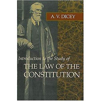 Introduction à l'étude de la loi de la Constitution