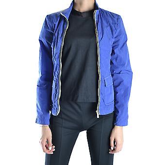 Etiqueta Negra Ezbc183021 Women's Blue Nylon Outerwear Jacket
