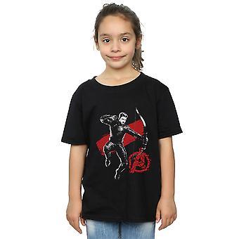 Marvel Girls Avengers Endgame Mono Hawkeye T-Shirt