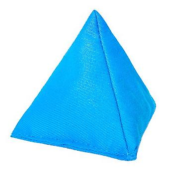 Türkisfarbener Baumwoll-Dreieck-Jonglesch Bean für Outdoor-Spiel