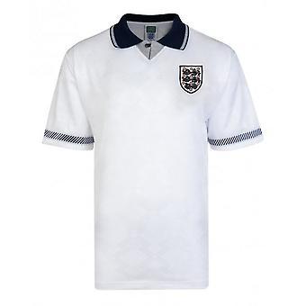 England 1990 World Cup Finals Home Shirt - Junior