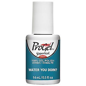 SuperNail ProGel Tropical Pop Gel Nail Polish Collection - Water You Doin? 14ml