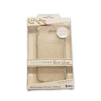 Case-Mate Sheer Glam Case for Samsung Galaxy J3 - Champagne Gold