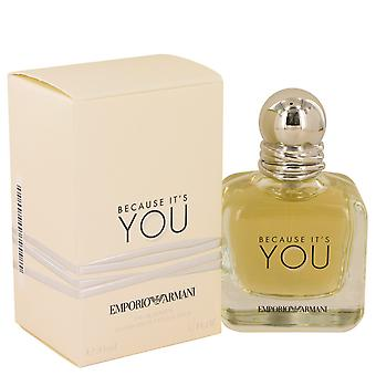 Giorgio Armani Because It's You Eau de Parfum 100ml EDP Spray