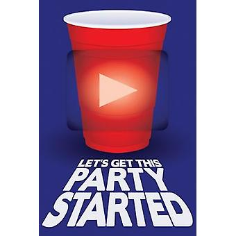 Poster - Beer Pong - Red Cup Party Wall Art Licensed Gifts Toys 241137
