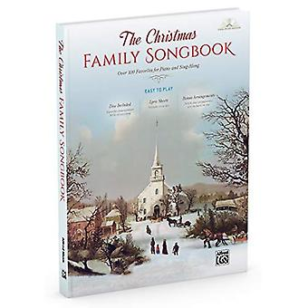 The Christmas Family Songbook: Over 100 Favorites for Piano and Sing-Along (Piano/Vocal/Guitar), Book & DVD-ROM