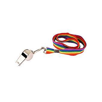 Silbato en cuerda de arco iris