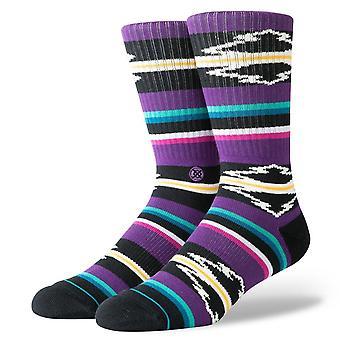 Stance Foundation Mens Socks ~ Odessa purple (size L)