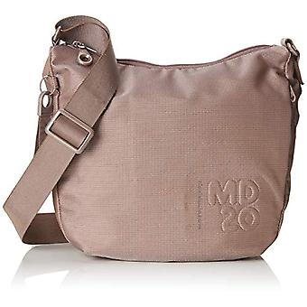 Mandarin Duck Md20 Women's Beige Shoulder Bag (Beige/Taupe) 10x21x28.5