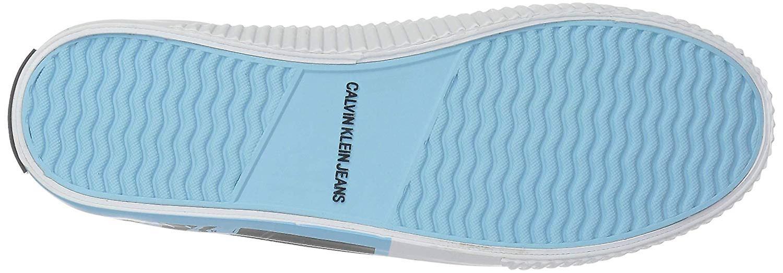 Calvin Klein Jeans Odzież Iconica tkaniny Hight góry wiązane moda trampki kSEoK