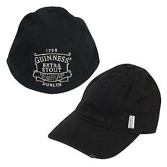 Casquette de Baseball noire de Guinness