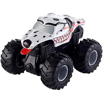 Hot Wheels Monster Jam Rev Tredz Monster Mutt Friktion Leksaksbil 12cm