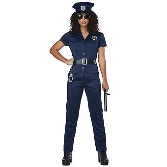 Police Woman Policewoman Cop Officer Uniform Book Week Adult Womens Costume